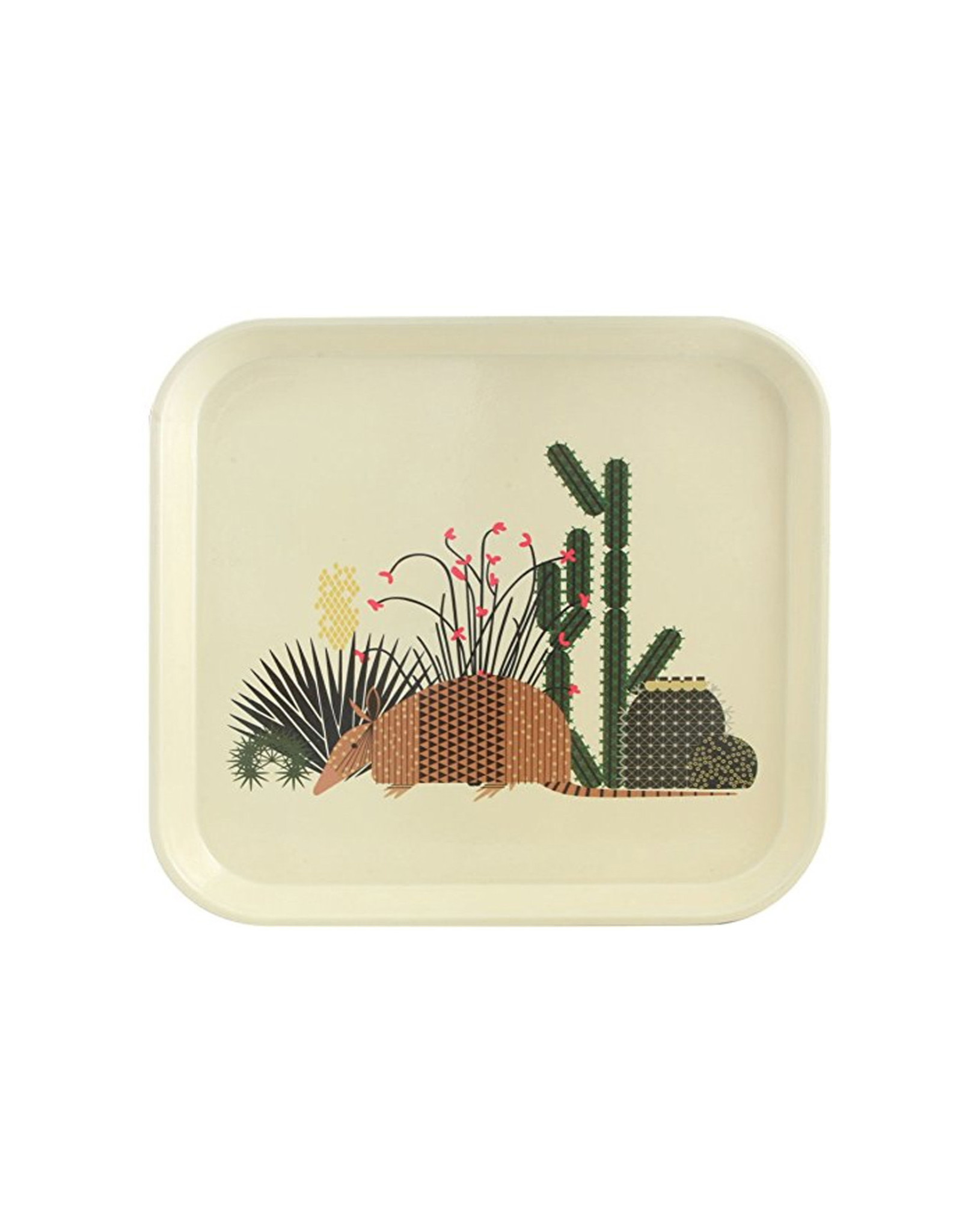 Charley Harper Tray, Cactus