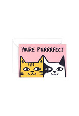 Wrap Card You're Purrrfect