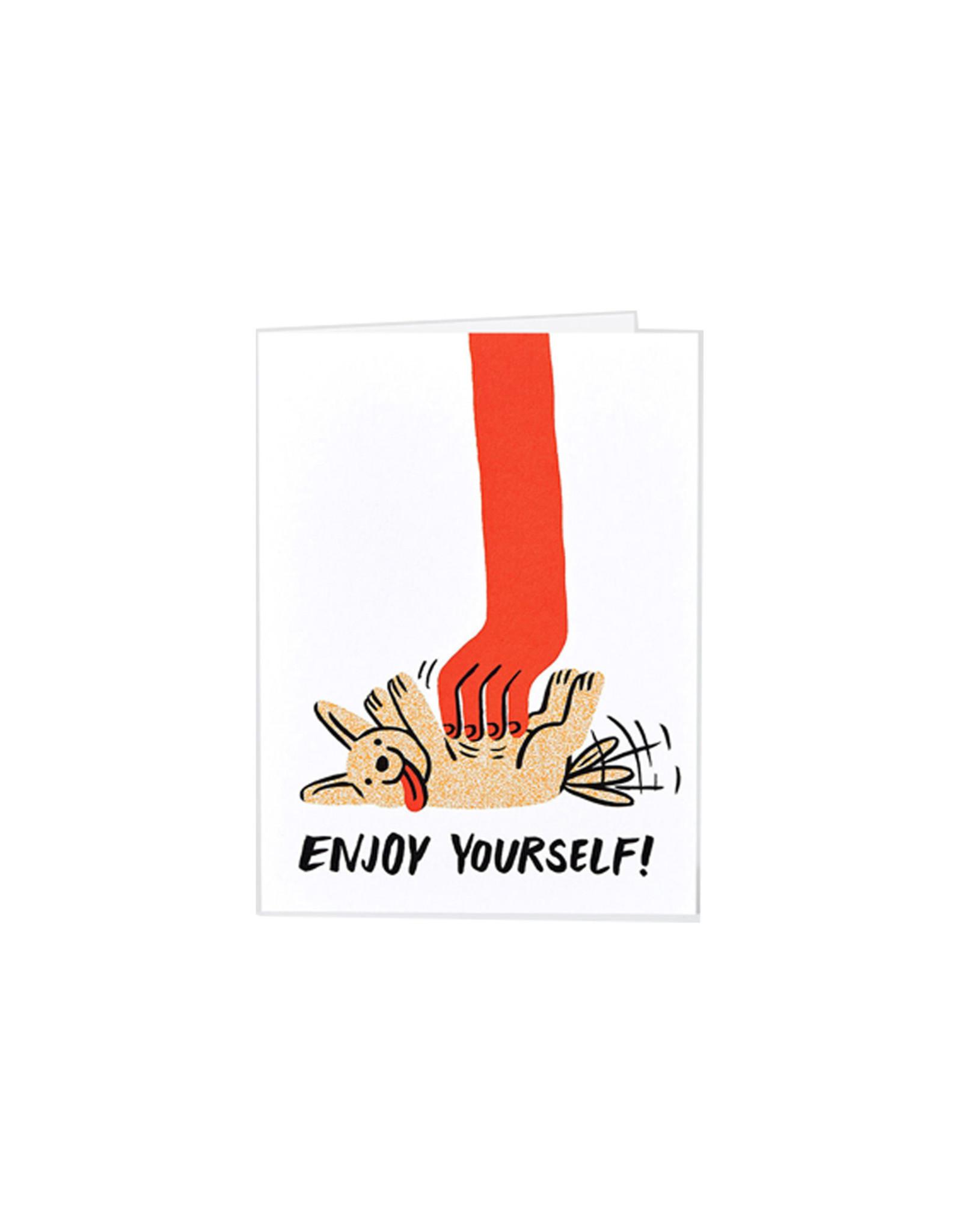 Wrap Card, Enjoy Yourself