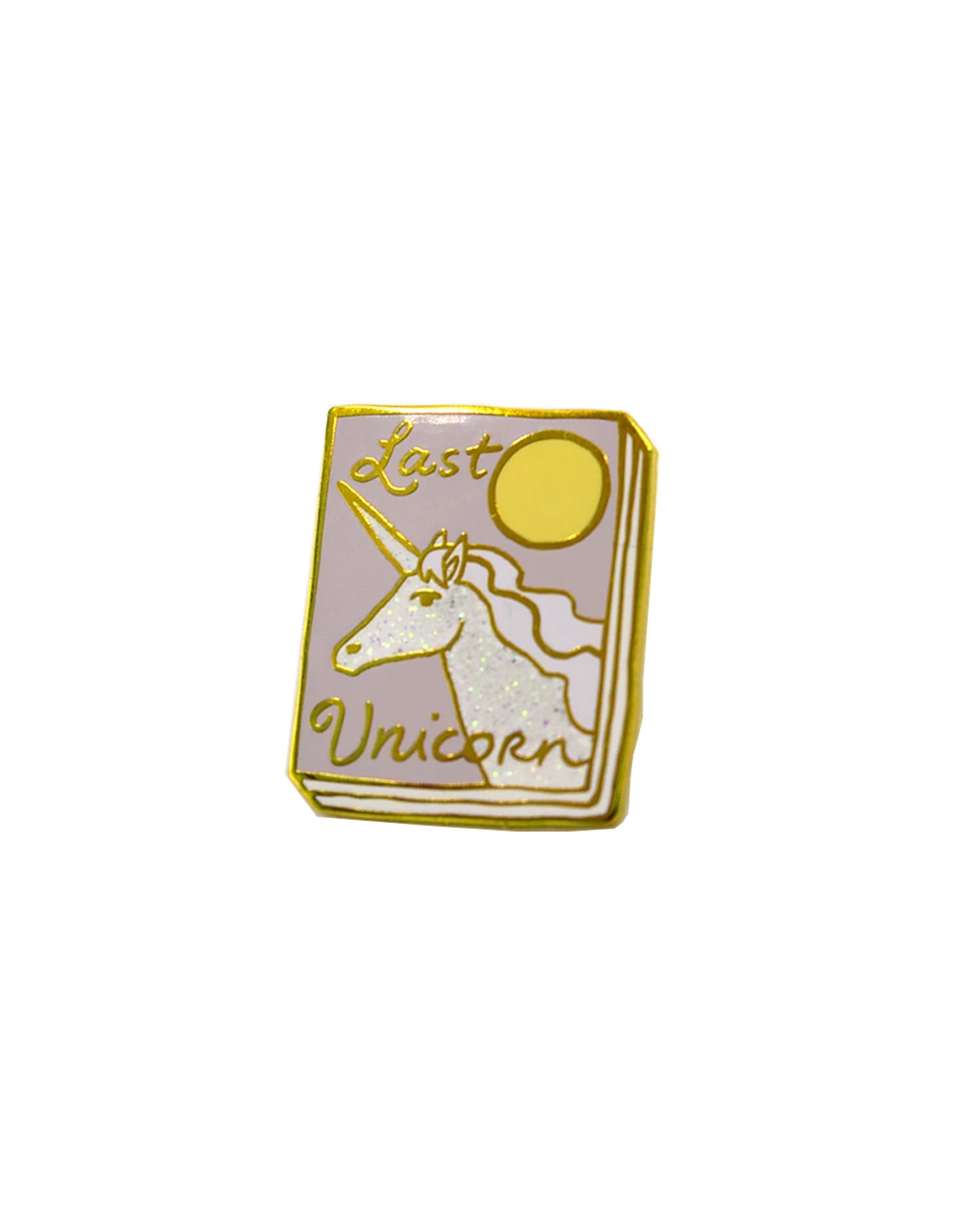 Ideal Bookshelf Book Pin: The Last Unicorn