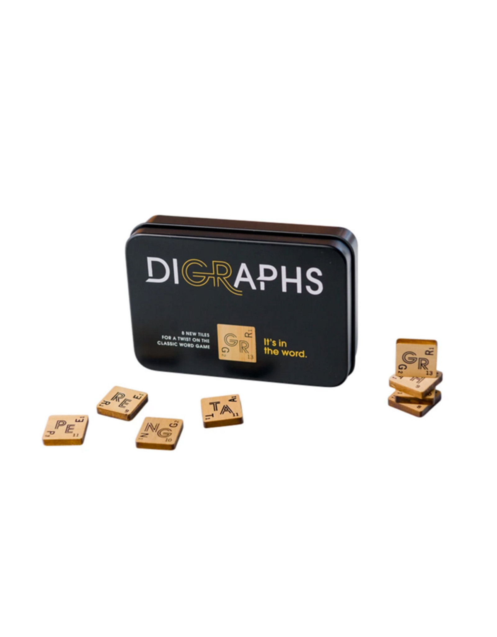 Digraphs: Scrabble Board Game Accessory