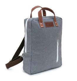 Maika Laptop Backpack, Waxed Ash