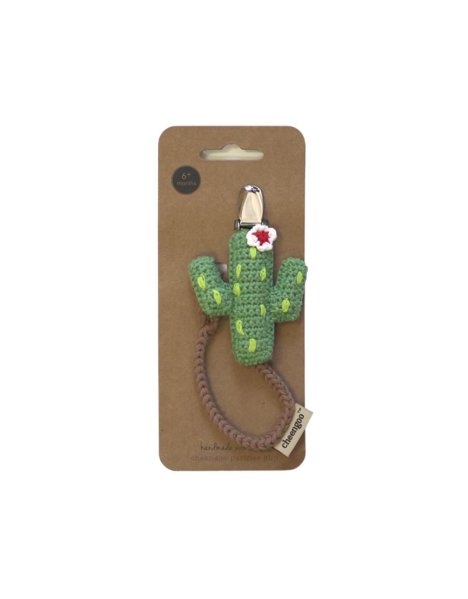 Cheengoo Cactus Pacifier Clip
