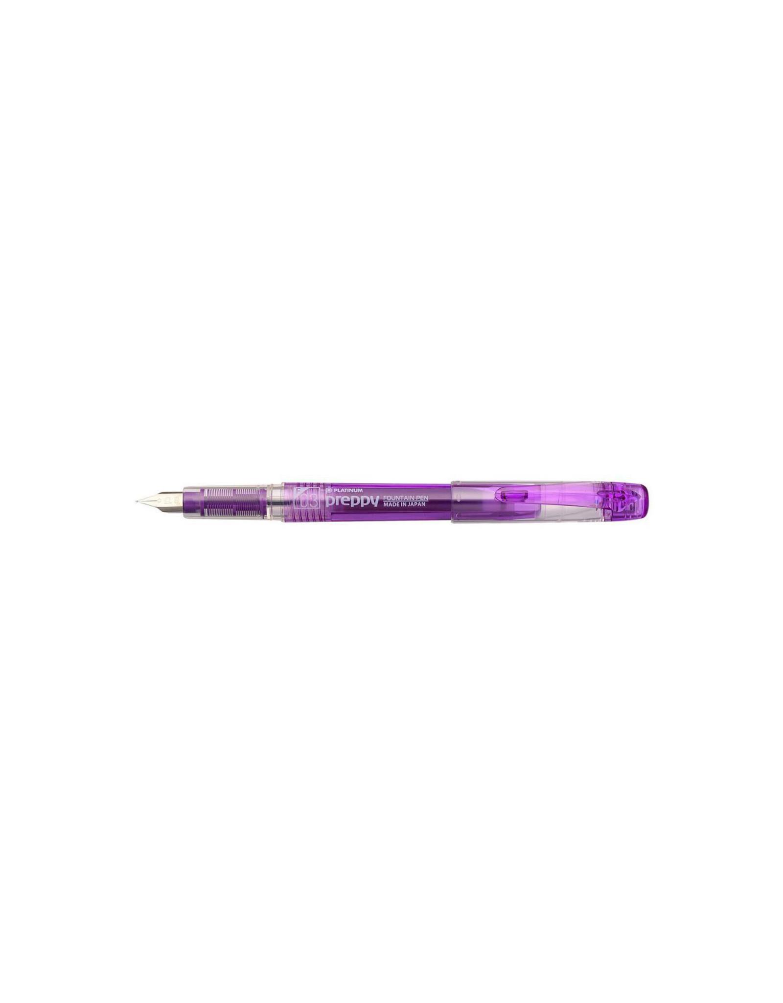 Preppy Fountain Pen, 03 Fine, Violet