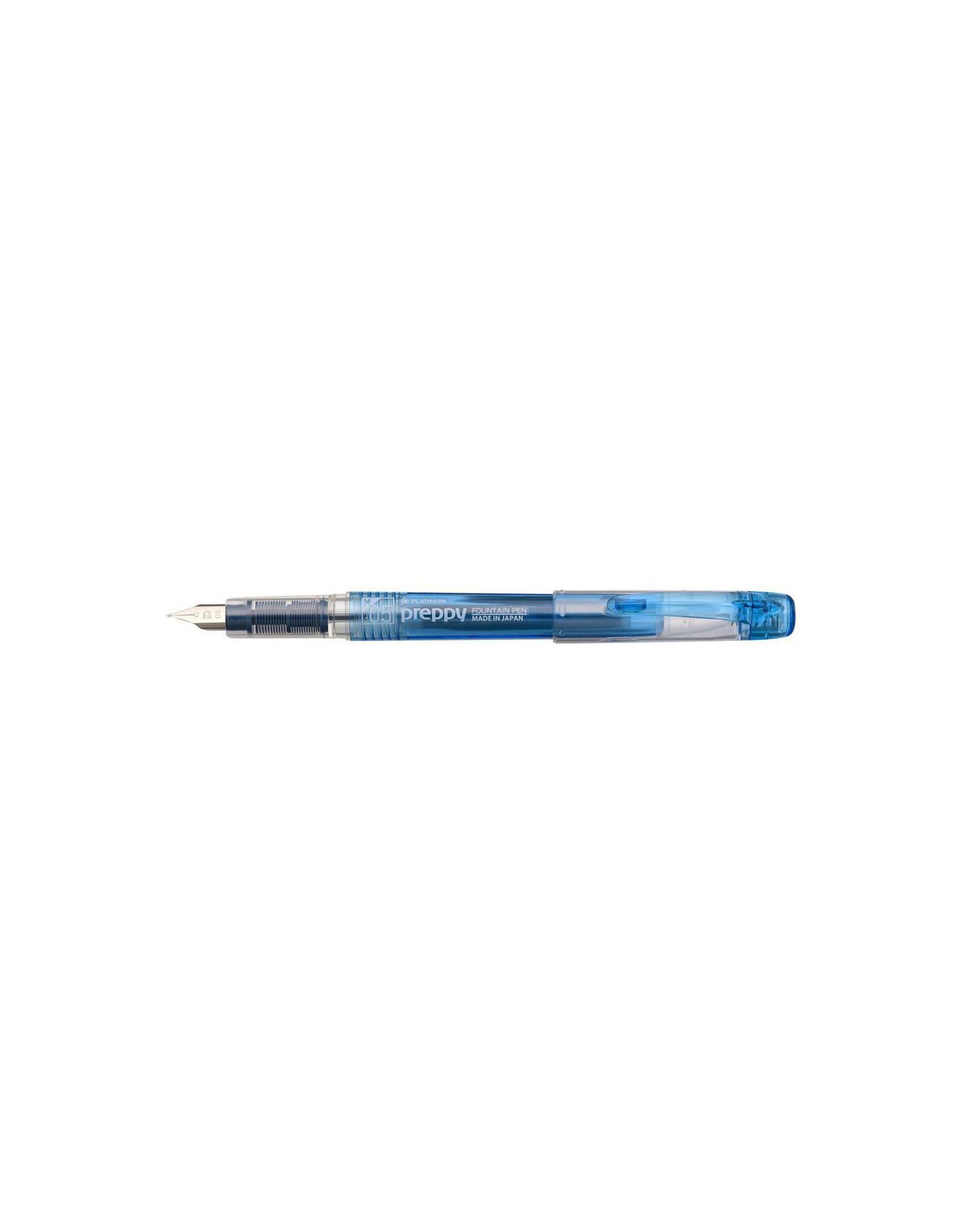 Preppy Fountain Pen, 05 Medium, Blue