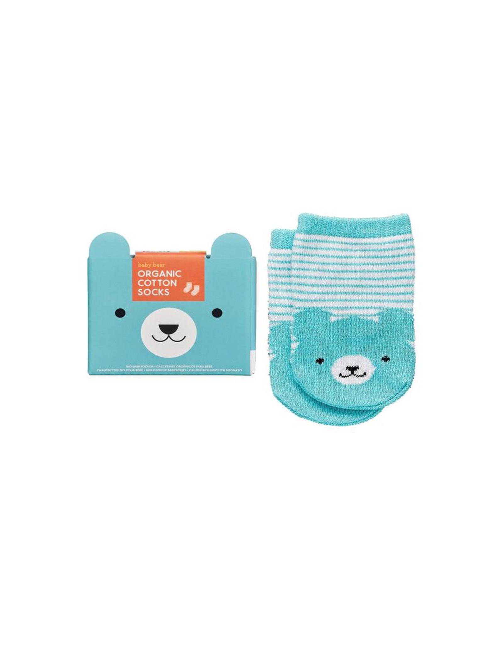 Little Friends Organic Baby Socks, Bear