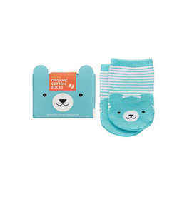 Little Friends Organic Baby Socks, Bear