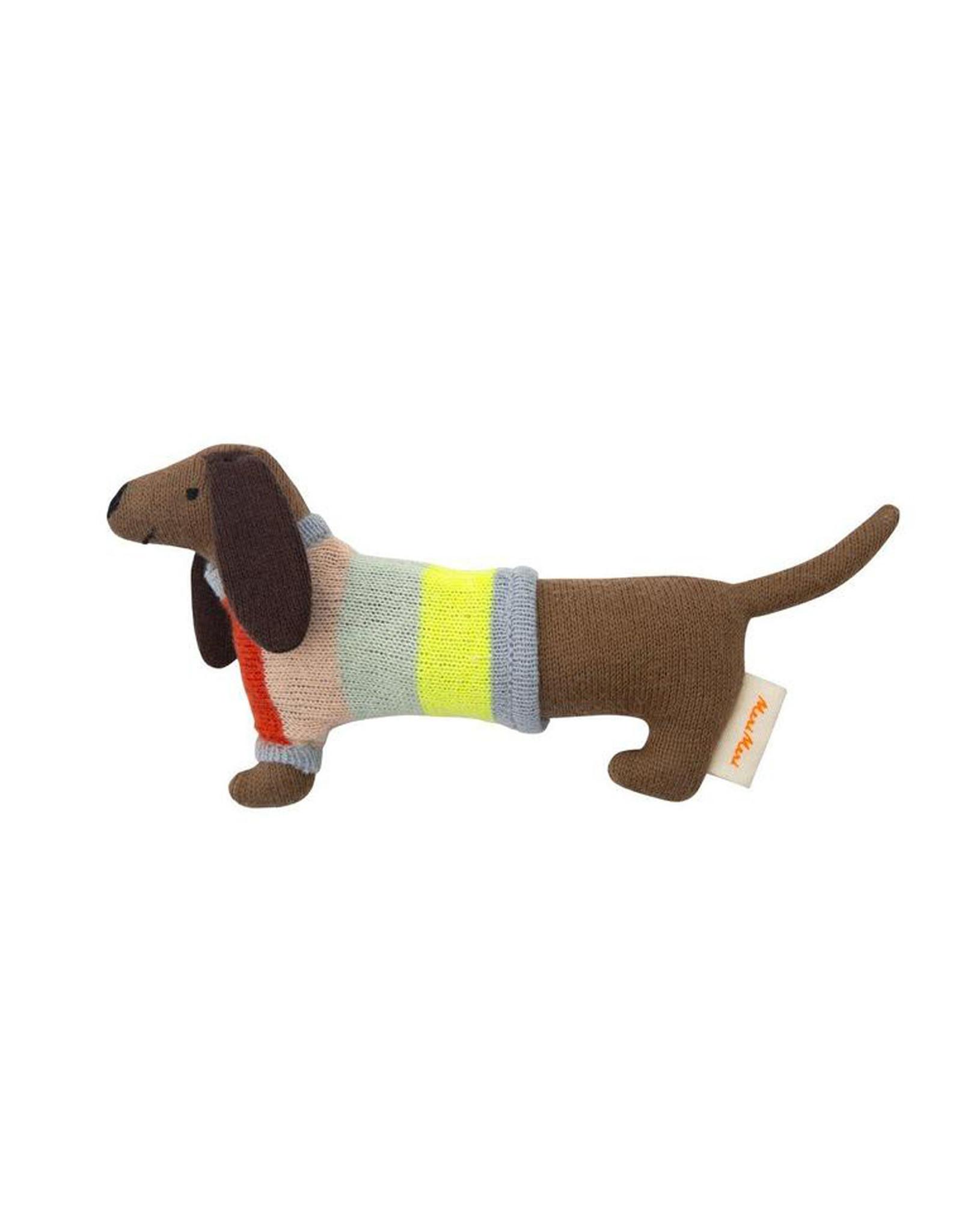 Meri Meri Sausage Dog Rattle