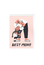 Wrap Best Mom Card