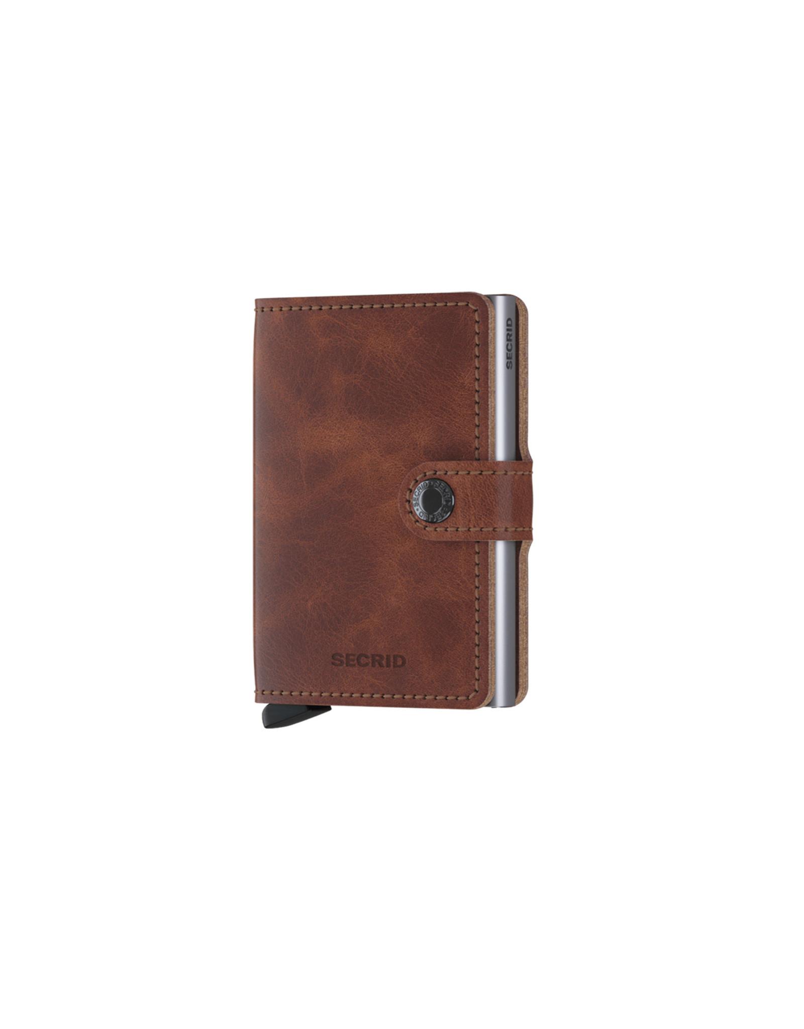 Secrid Miniwallet, Vintage Brown