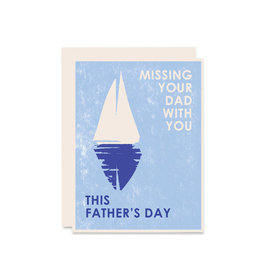 Heartell Press Missing Your Dad With You Card