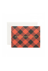 RIfle Paper Co. Father's Day Plaid Card