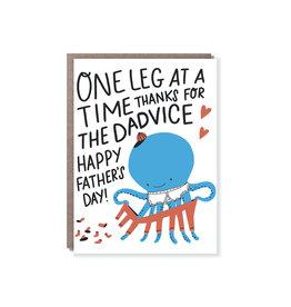Hello Lucky Octopus Pants On Card