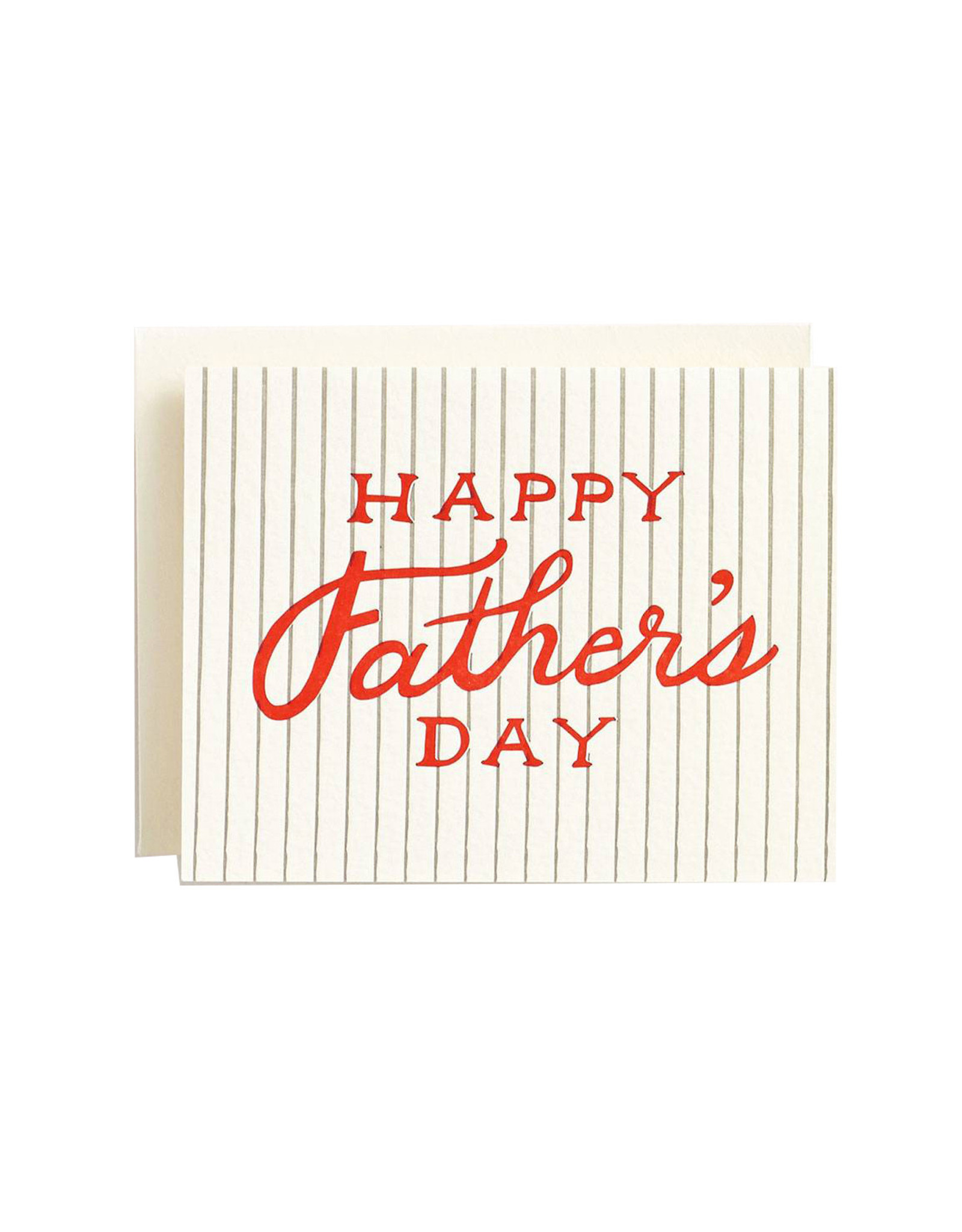 Paper Source Baseball Father's Day Card