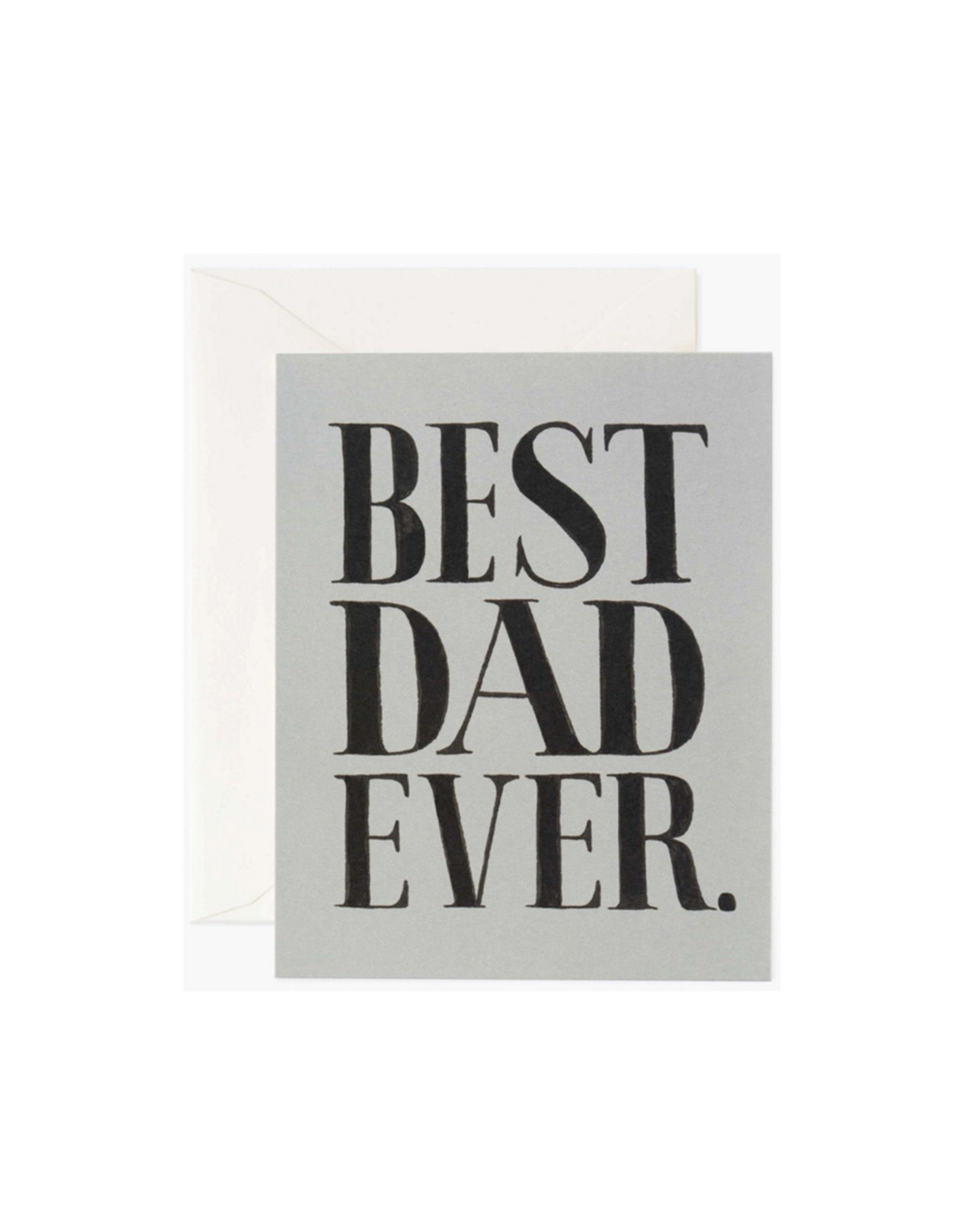 Rifle Paper Co Best Dad Ever Card