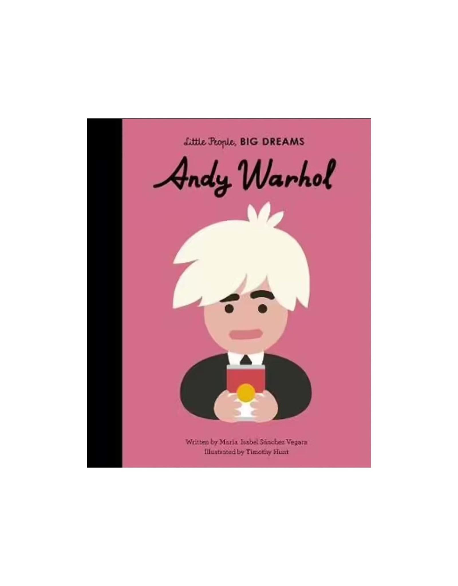 Little People Big Dreams, Andy Warhol