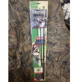 MARTIN MARTIN 8' 5/6AWT 3PC FLY ROD COMBO STARTER KIT
