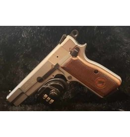 CANUCK CAN HP 9MM STAINLESS/WALNUT SINGLE SEMI