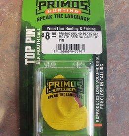 PRIMOS PRIMOS SOUND PLATE ELK MOUTH REED W/ CASE
