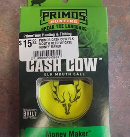 PRIMOS PRIMOS CASH COW ELK MOUTH REED W/ CASE