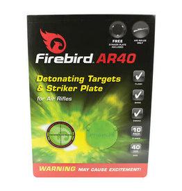 FIREBIRD FIREBIRD AR40 DETONATING TARGETS & STRIKER PLATE