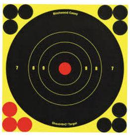 "BIRCHWOOD CASEY BWC SHOOT-N-C 6"" ADHESIVE TRGT 10PK"