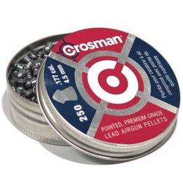 CROSSMAN CROS PREMIER POINTED .177CAL 7.4GR PELLETS 250PK