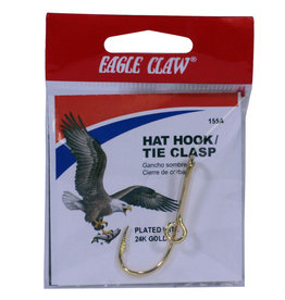 EAGLE CLAW EC HAT HOOK PLATED 24K GOLD