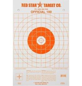 "RED STAR RED STAR ""ORANGE OFFIFCIAL"" TARGET 10PK"