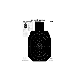 """RED STAR RED STAR THE """"ENFORCER"""" PAPER TARGET"""