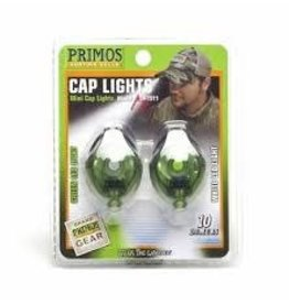 PRIMOS PRIMOS GREEN LED CAP LIGHT 2PK