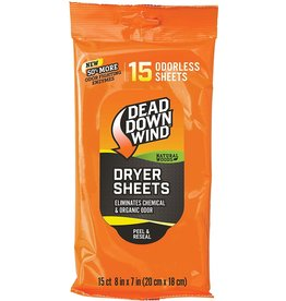 DEAD DOWN WIND DDW DRYER SHEETS 15PK