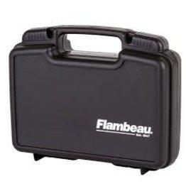 "FLAMBEAU FLAM 10.5"" PISTOL CASE BLACK PLASTIC"