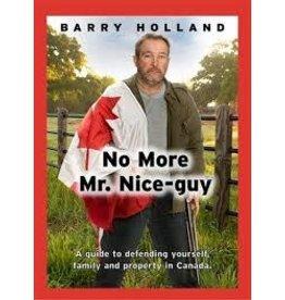 NO MORE MR NICE GUY BOOK