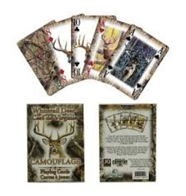 RIVERS EDGE RE WHITETAIL DEER CAMO PLAYING CARDS
