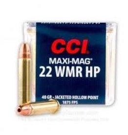 CCI CCI MAXI-MAG 22WIN 40GR JHP brick