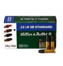 SELLIER & BELLOT SB 22 LR 40GR SB STANDARD VELOCITY TARGET single