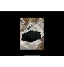 STRICTLY WHOLESALE SWSI FASHION BLACK CLOTH FACE MASKS