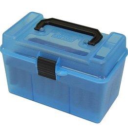 MTM MTM HANDLE FLIP TOP CLR. BLUE AMMO BOX