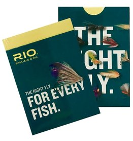 """RIO RIO """"THE RIGHT FLY FOR EVERY FISH"""" PLAYING CARDS"""