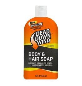 DEAD DOWN WIND DDW BODY WASH & SHAMPOO 16oz UNSCENTED