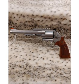 SMITH & WESSON USED DEMO S&W 629-8 PERFORMANCE 44MAG  SS/WOOD REVOLVER