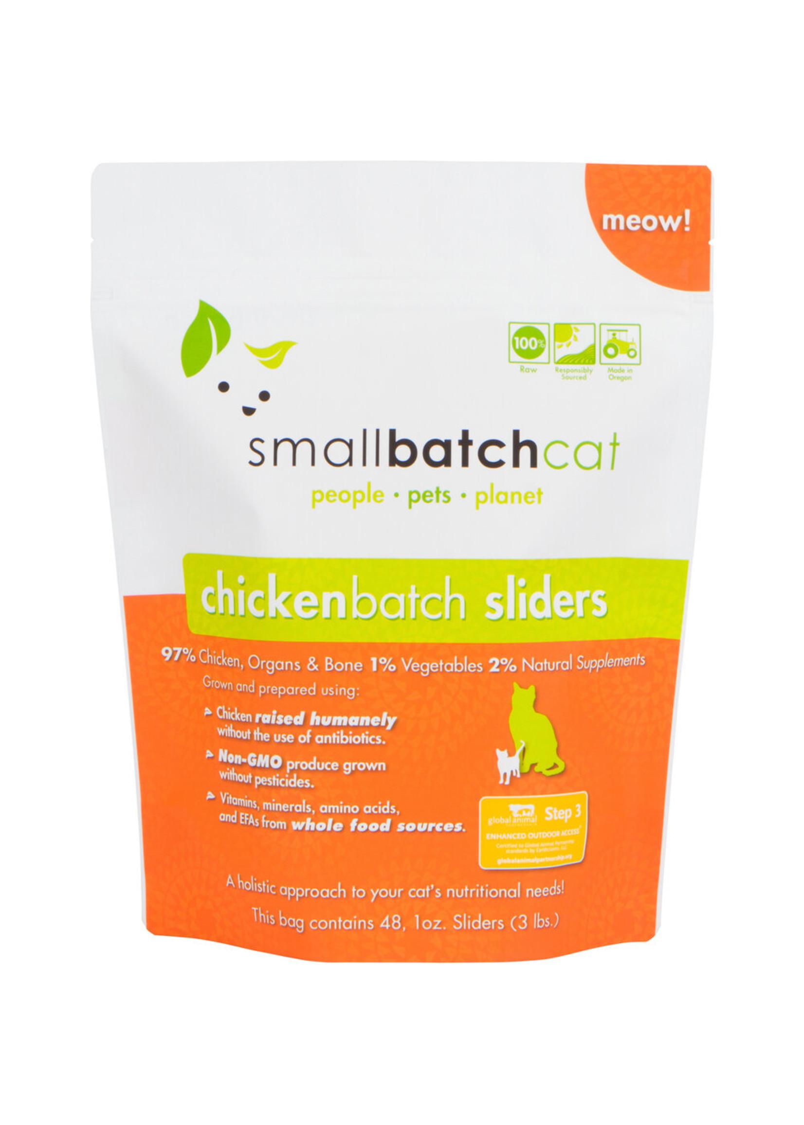 SMALL BATCH Small Batch Cat Chicken Sliders, 3lb.