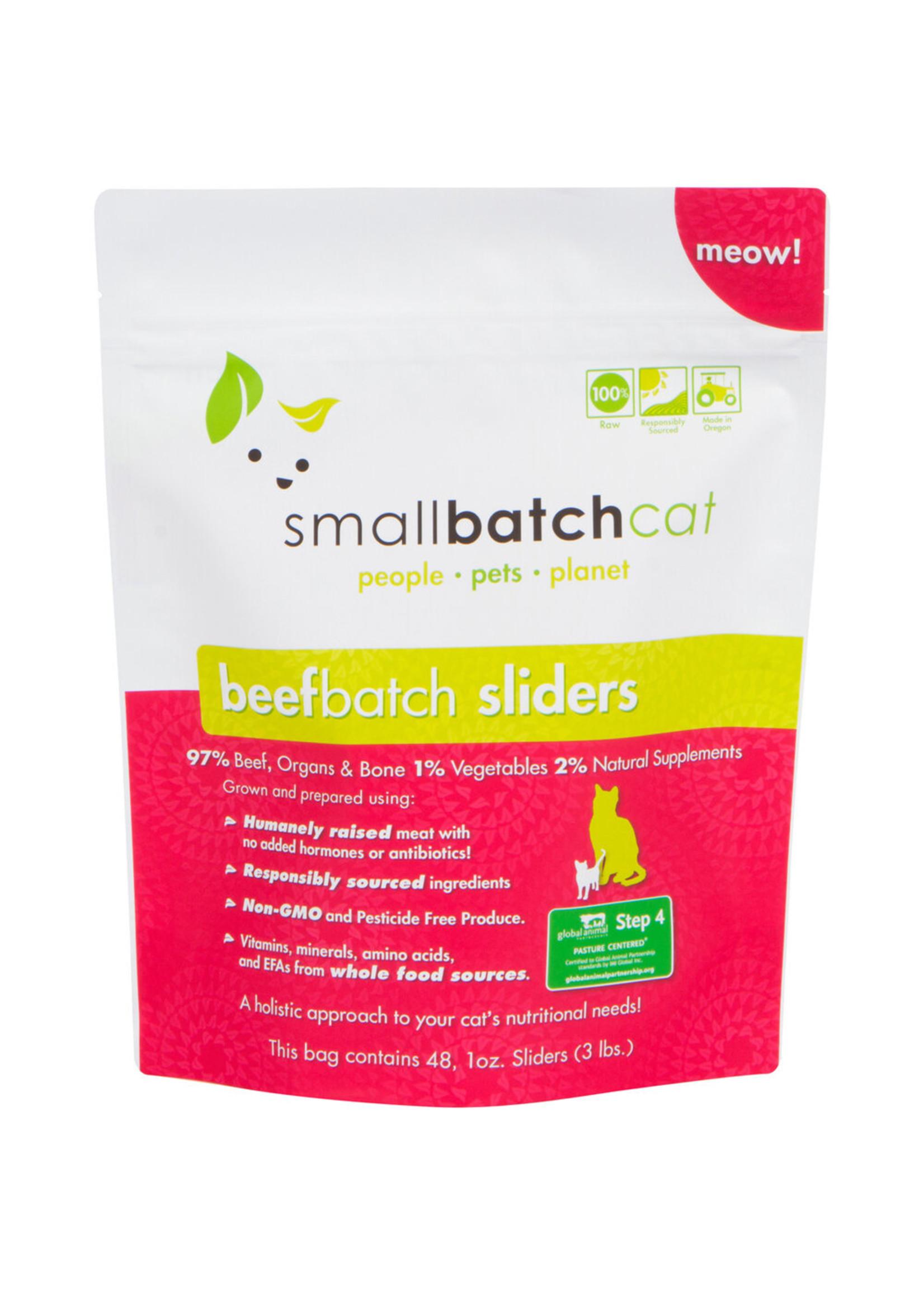 SMALL BATCH Small Batch Cat Beef Sliders, 3 lb.