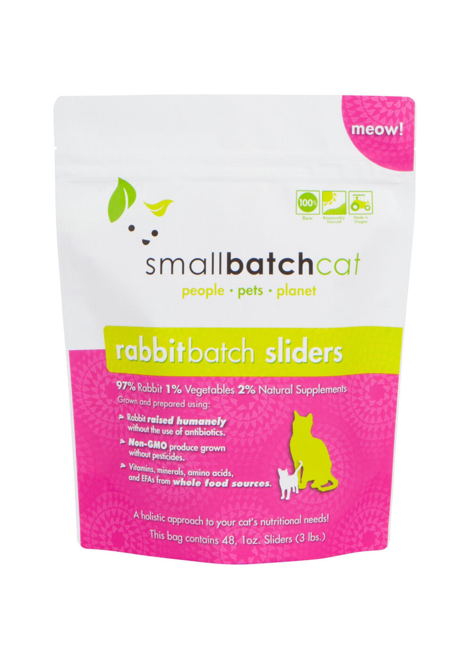 SMALL BATCH Small Batch Cat Rabbit Sliders, 3 lb.