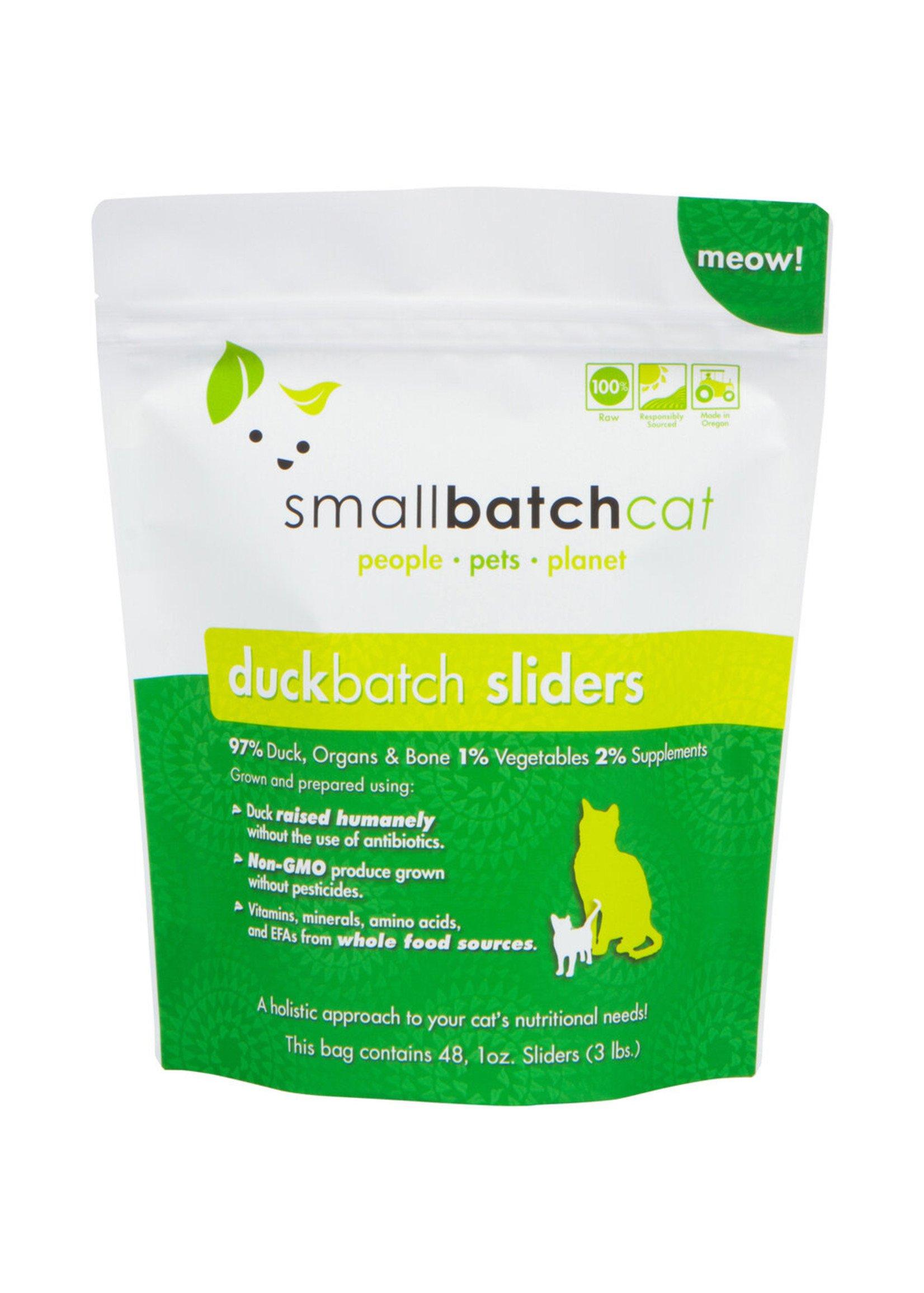 SMALL BATCH Small Batch Cat Duck Sliders, 3 lb.