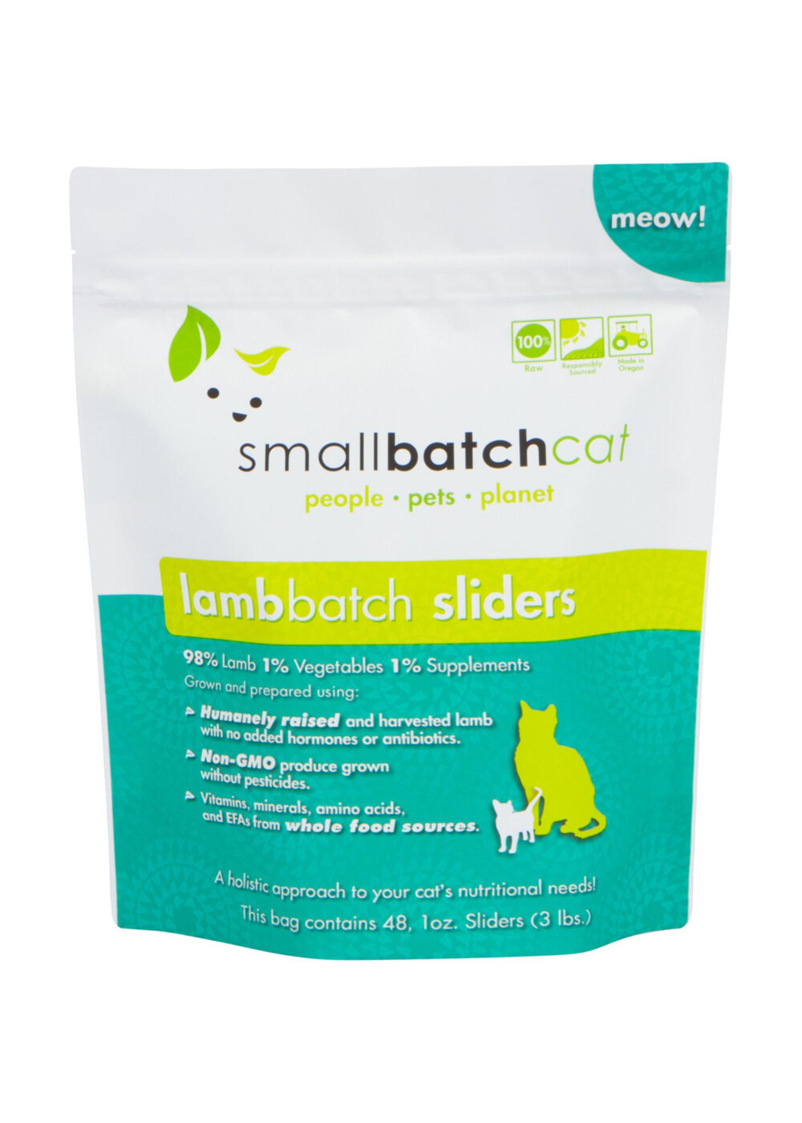 SMALL BATCH Small Batch Cat Lamb Sliders, 3 lb.
