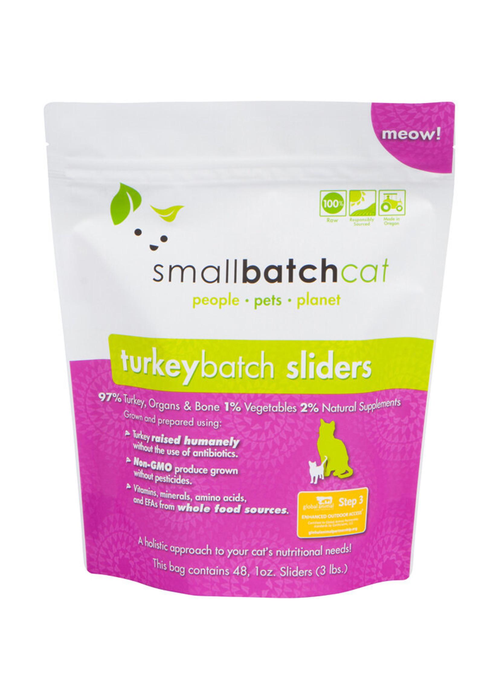 SMALL BATCH Small Batch Cat Turkey Sliders, 3 lb.