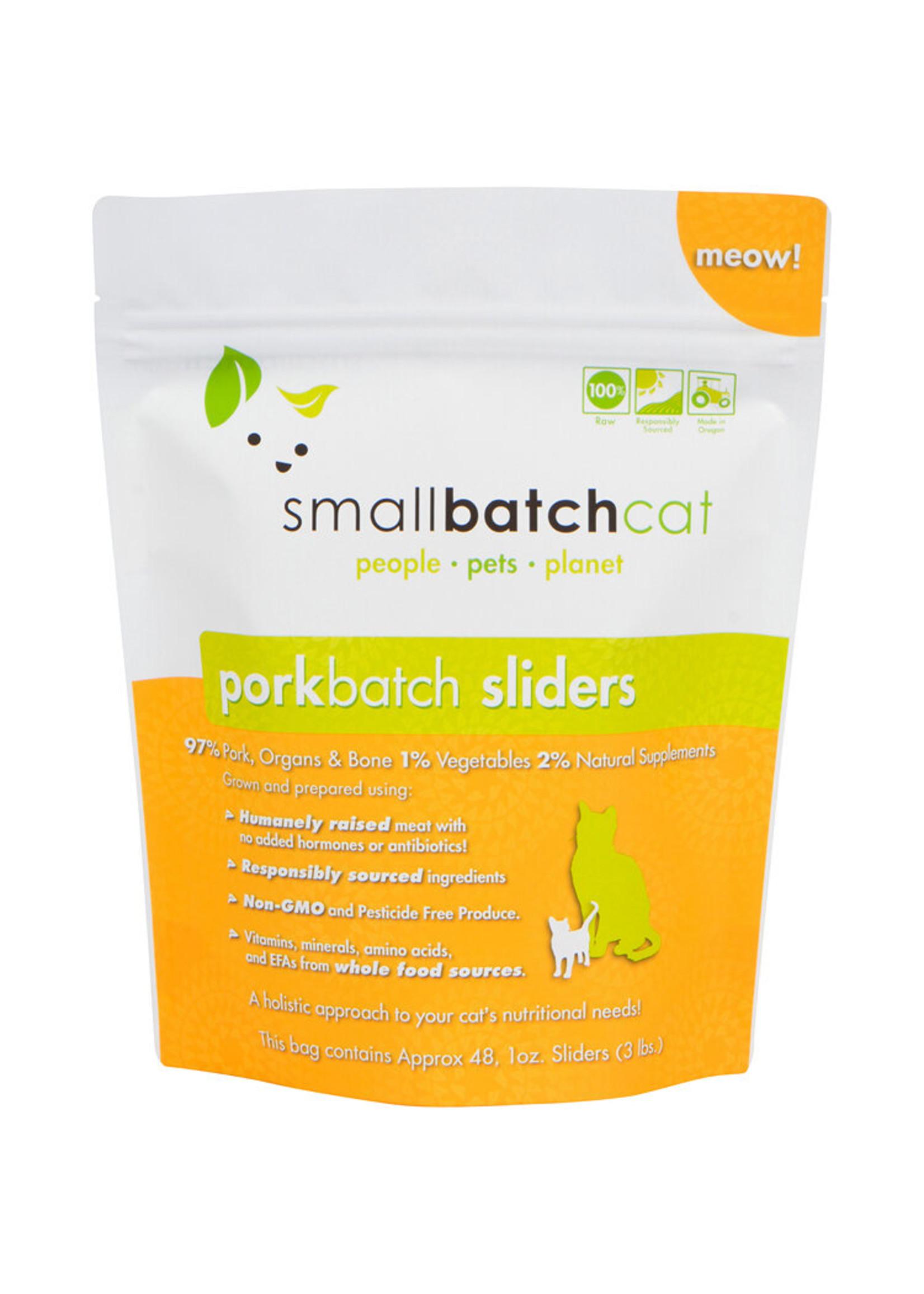 SMALL BATCH Small Batch Cat Pork Sliders, 3 lb.