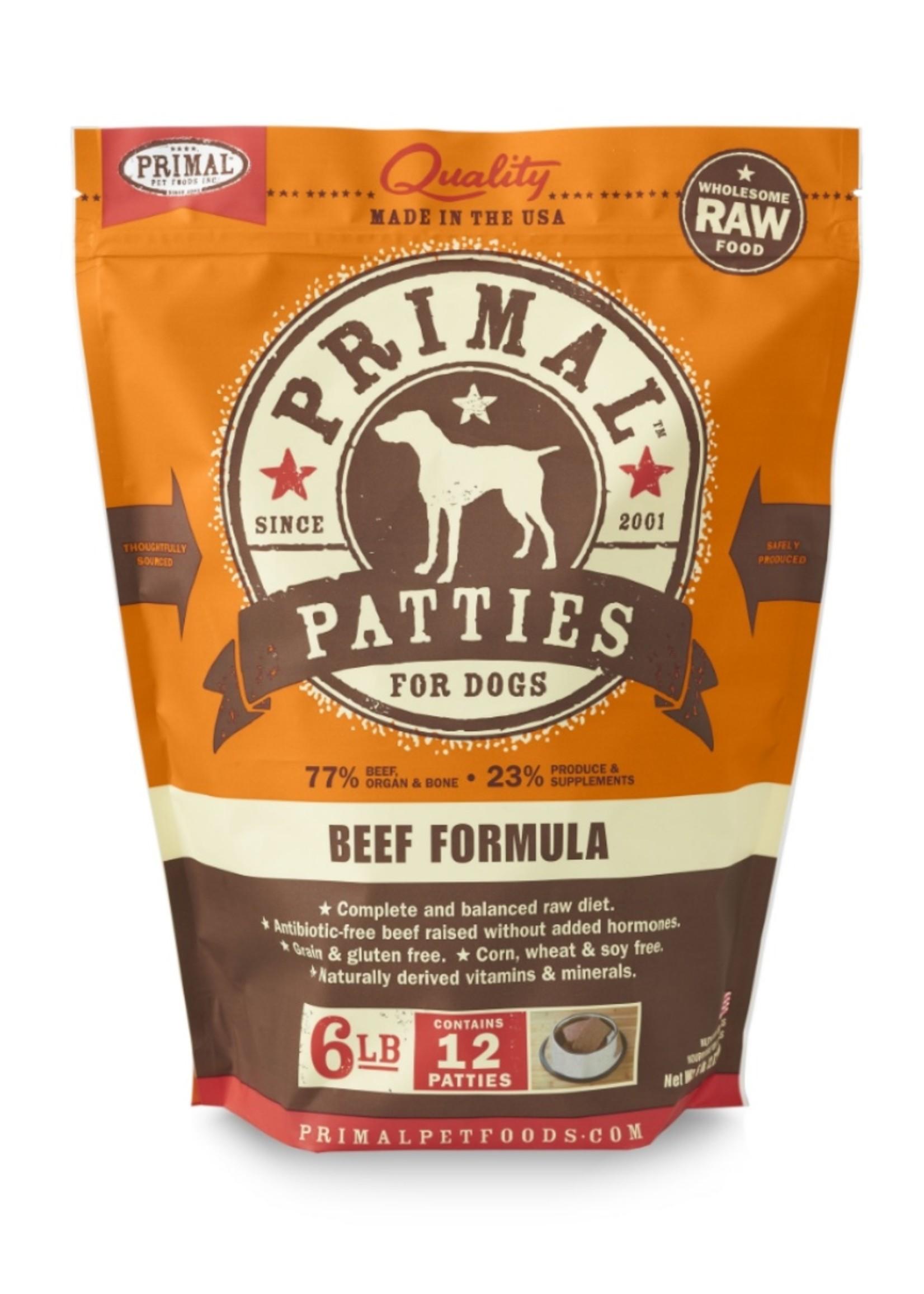 PRIMAL PET FOODS Primal Raw Beef Formula